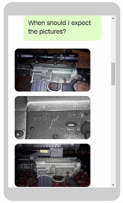 CNN: Vũ khí hạng nặng Mỹ la liệt trên chợ đen của phiến quân, nhắn tin là có hàng - Ảnh 2.