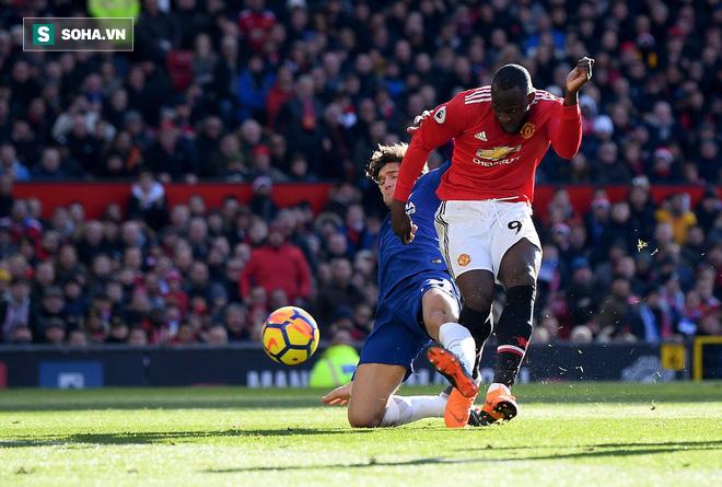 Lukaku rực sáng, Mourinho hạ Chelsea bằng sự dũng cảm hiếm thấy - Ảnh 2.