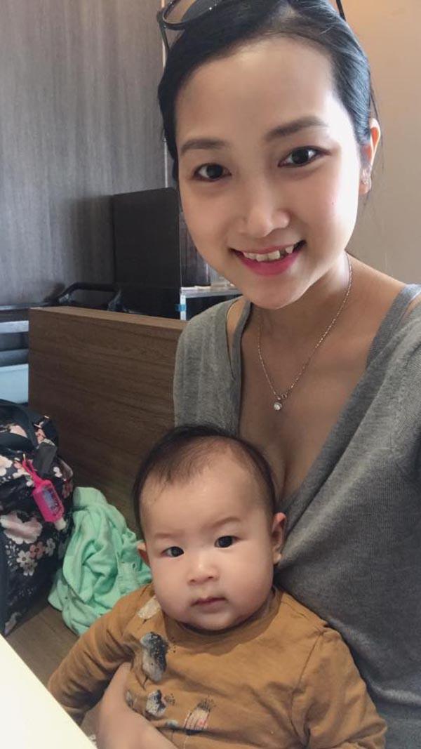 Nhan sắc vợ 9x của Lam Trường sau khi sinh con đầu lòng - Ảnh 10.