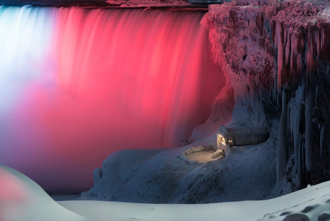 Chiêm ngưỡng bức ảnh thác Niagara vào mùa đông băng giá: cứ ngỡ chụp ở hành tinh nào khác! - Ảnh 4.