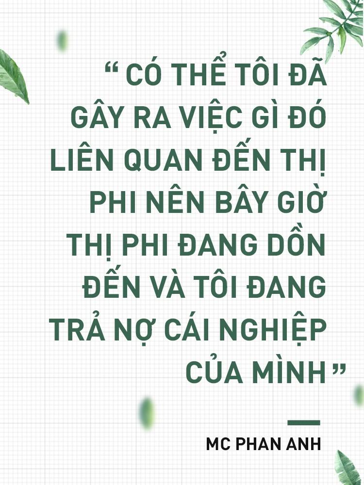 """MC Phan Anh: """"Có một buổi sáng sau khi ngủ dậy, tôi thấy tóc mình bạc trắng - Ảnh 4."""