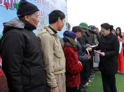 Chủ tịch Quốc hội dự lễ phát động Tết trồng cây tại Hải Dương - Ảnh 2.