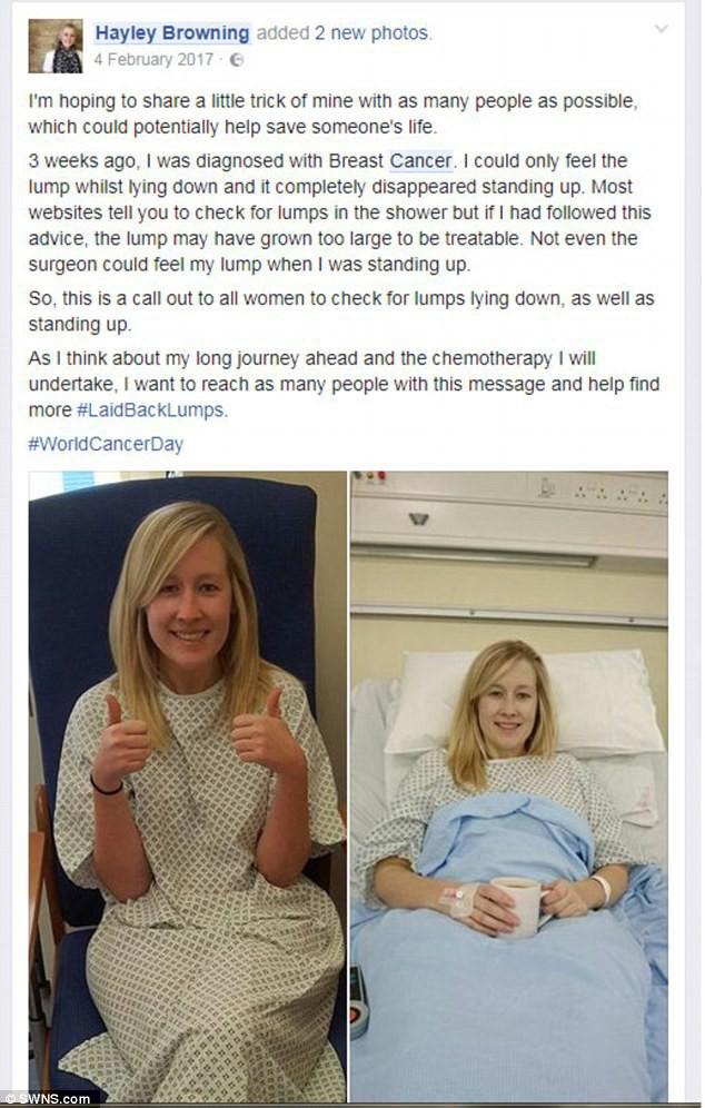 Người phụ nữ này đã thoát khỏi tay tử thần một cách kỳ diệu nhờ tình cờ đọc bài chia sẻ trên mạng xã hội, chị em kiểm tra ngay để biết cơ thể mình ra sao - Ảnh 4.