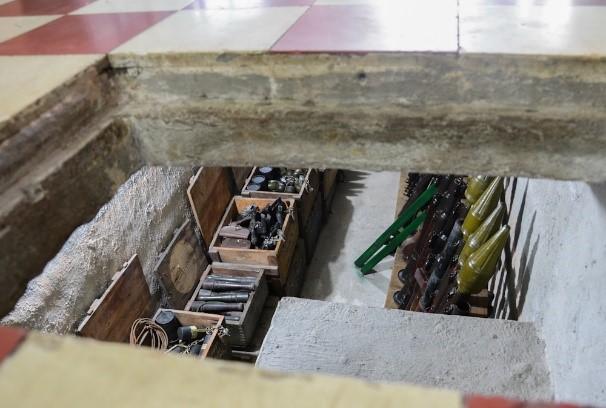 Những căn hầm chứa vũ khí của Biệt động Sài Gòn trong Tết Mậu Thân 1968 - Ảnh 1.