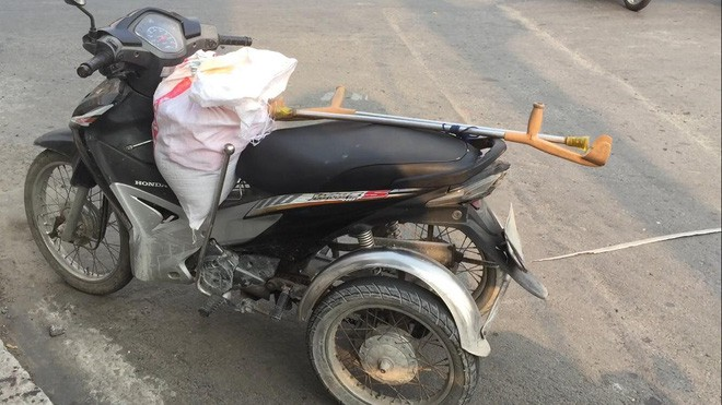 Người phụ nữ khuyết tật bị xe bồn cán tử vong giữa Sài Gòn - Ảnh 1.