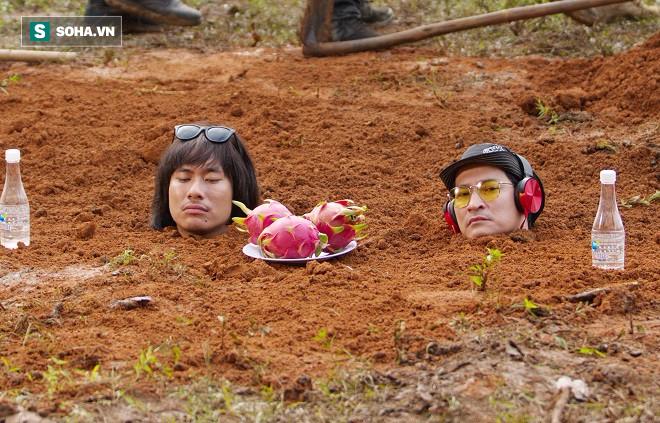Huy Khánh, Kiều Minh Tuấn bị chôn sống trên phim trường Lật mặt 3 - Ảnh 7.