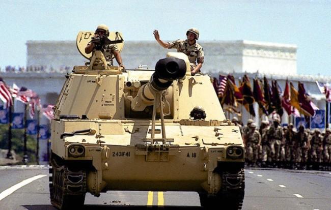Mỹ tổ chức duyệt binh vào tháng 11 nhưng không dám dùng xe tăng - Ảnh 1.