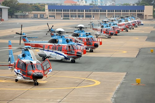 Công ty Trực thăng miền Nam (Binh đoàn 18): Những cánh bay vươn tầm quốc tế - Ảnh 1.