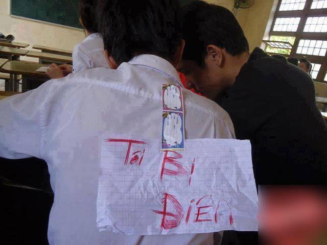 Trò nghịch dại của nhóm học sinh khiến nhiều người hoảng hốt - Ảnh 6.