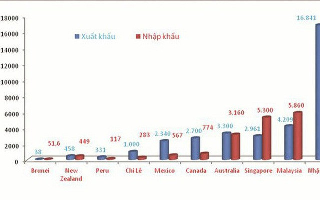 """Đối tác """"tỷ USD"""" của Việt Nam trong CPTPP - Ảnh 1."""