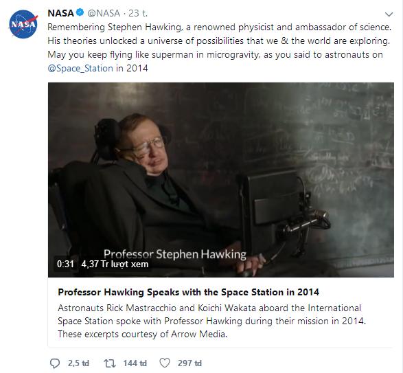 Barack Obama, Bill Gates và hàng loạt ông lớn công nghệ bày tỏ tiếc thương Stephen Hawking - Ảnh 13.