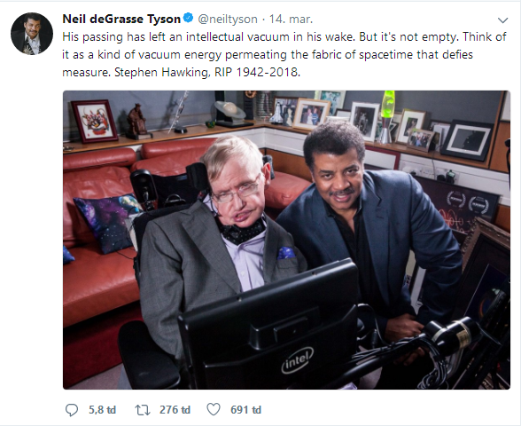 Barack Obama, Bill Gates và hàng loạt ông lớn công nghệ bày tỏ tiếc thương Stephen Hawking - Ảnh 9.
