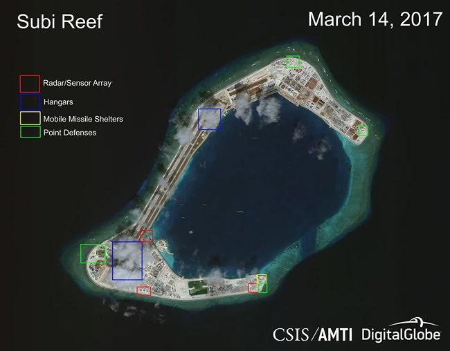 Báo Mỹ: Đảo nhân tạo Trung Quốc trên Biển Đông khó sống sót khi có biến - Ảnh 1.