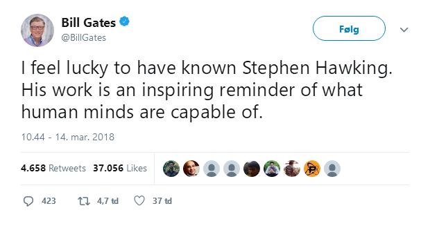 Barack Obama, Bill Gates và hàng loạt ông lớn công nghệ bày tỏ tiếc thương Stephen Hawking - Ảnh 4.