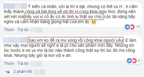 Trước sóng gió dư luận, Hòa Minzy lên tiếng sẽ bảo vệ bạn trai: Có em ở đây bảo vệ anh mà - Ảnh 5.