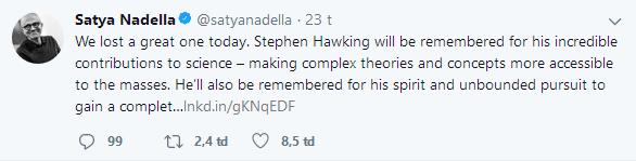 Barack Obama, Bill Gates và hàng loạt ông lớn công nghệ bày tỏ tiếc thương Stephen Hawking - Ảnh 6.