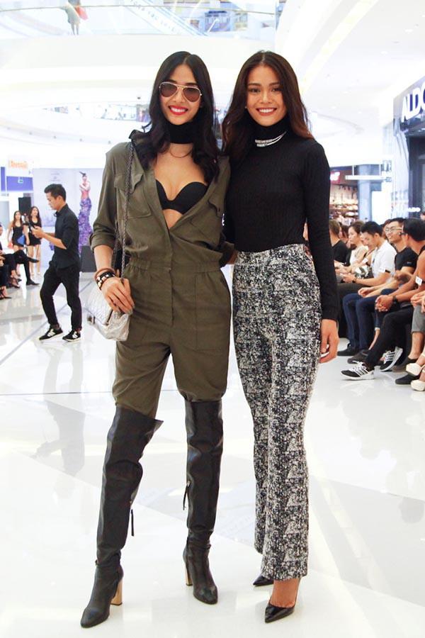 Cuộc đua gợi cảm của Hoàng Thùy, Mâu Thủy sau Hoa hậu Hoàn vũ Việt Nam - Ảnh 1.