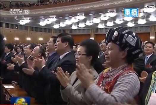 Đại biểu Trung Quốc rơi lệ khi ông Tập Cận Bình tuyên thệ nhậm chức Chủ tịch nước - Ảnh 1.