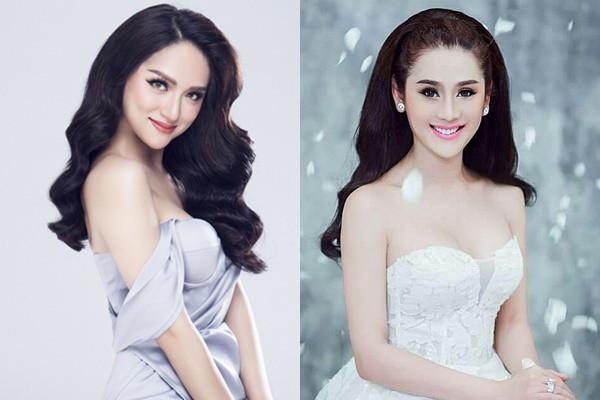 Bị so sánh nhan sắc với Lâm Khánh Chi, Hoa hậu Hương Giang thẳng thắn đáp lại - Ảnh 1.