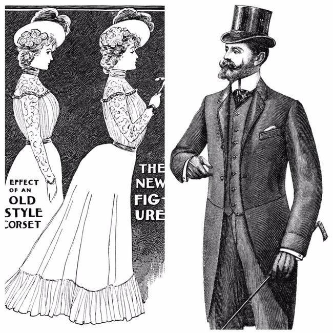 Câu chuyện lịch sử thời trang thế kỷ 20: Từ sự tôn sùng vẻ đẹp gợi cảm đến phong cách siêu giản dị vào cuối những năm 90 - Ảnh 1.