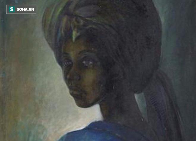 Mệnh danh là Mona Lisa châu Phi, bức họa kỳ lạ được rao bán hơn 1.6 triệu USD - Ảnh 1.