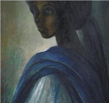 Mệnh danh là Mona Lisa châu Phi, bức họa kỳ lạ được rao bán hơn 1.6 triệu USD - Ảnh 2.