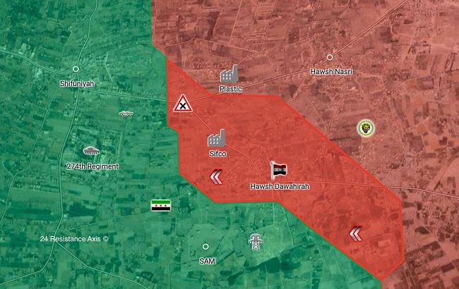 """Tung đòn hiểm, """"Hổ Syria"""" làm cỏ phiến quân tử thủ căn cứ phòng không Đông Ghouta - Ảnh 1."""