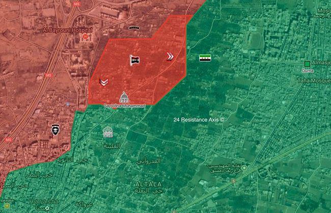 """Tung đòn hiểm, """"Hổ Syria"""" làm cỏ phiến quân tử thủ căn cứ phòng không Đông Ghouta - Ảnh 2."""