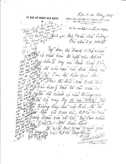 Nhờ bức thư tay của ông Sáu Khải… - Ảnh 2.