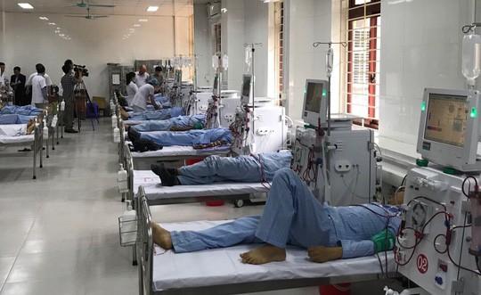 Khoa lọc máu hoạt động trở lại sau sự cố 8 bệnh nhân chạy thận tử vong - Ảnh 1.