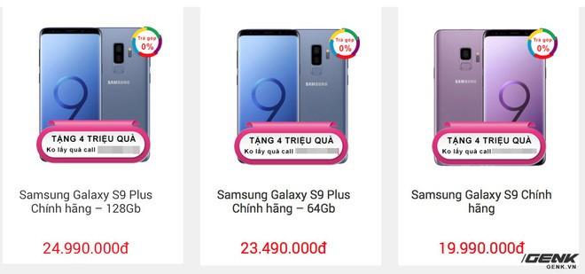 Galaxy S9 loạn giá tại Việt Nam - Ảnh 2.