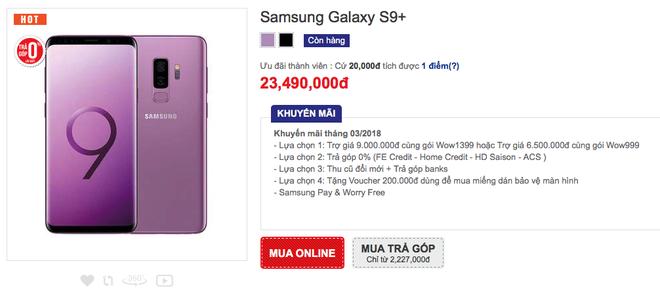 Galaxy S9 loạn giá tại Việt Nam - Ảnh 7.
