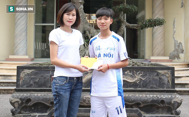 Món quà ấm lòng dành cho cầu thủ Việt có hoàn cảnh khó khăn - Ảnh 1.