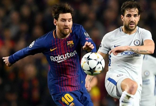 Cesc Fabregas: Tôi phải đổi bạn tập vì Messi khiến tôi xấu hổ - Ảnh 1.