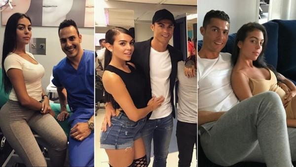 Vợ Messi và bạn gái Ronaldo, ai xinh hơn? - Ảnh 1.