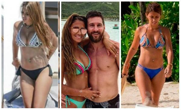 Vợ Messi và bạn gái Ronaldo, ai xinh hơn? - Ảnh 5.