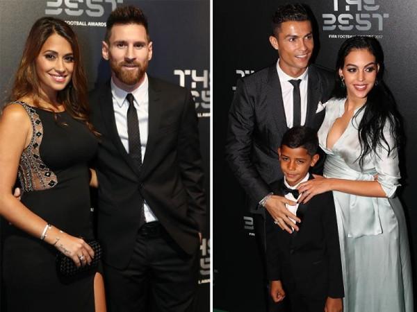 Vợ Messi và bạn gái Ronaldo, ai xinh hơn? - Ảnh 9.