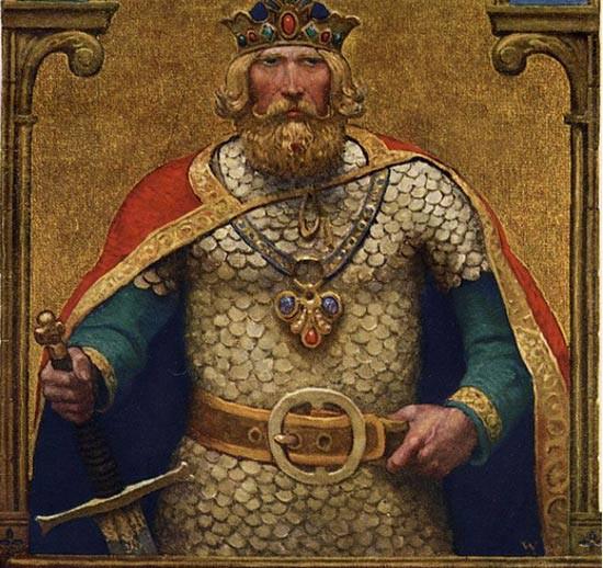 13 kho báu có phép màu trong thần thoại của nước Anh - Ảnh 12.