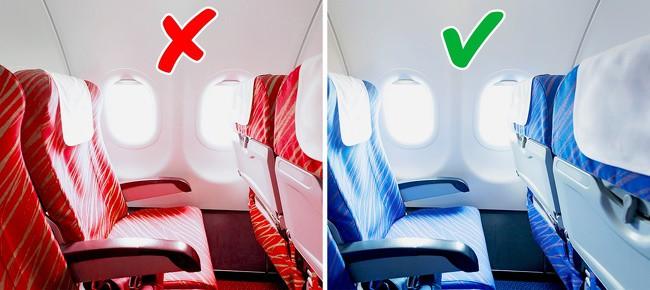 Tại sao phần lớn ghế máy bay có màu xanh? Câu trả lời khiến nhiều người bất ngờ - Ảnh 3.