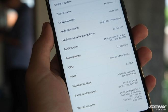 Trên tay Xiaomi Mi Mix 2S: Sinh ra để khắc phục điểm yếu lớn nhất của Mi Mix 2 - Ảnh 7.