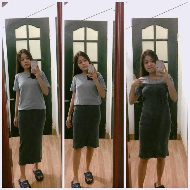 Order quần jean ống loe bắt trend trên mạng, cô gái diện vào rồi đứng lên cả ghế mới vừa  - Ảnh 2.