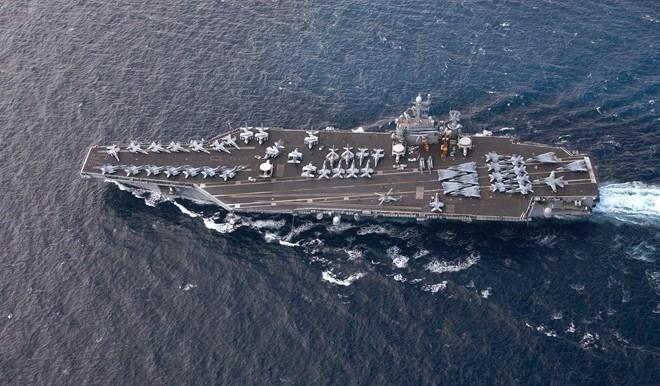Cận cảnh những tàu sân bay cùng lớp với USS Carl Vinson sắp thăm Việt Nam - Ảnh 13.
