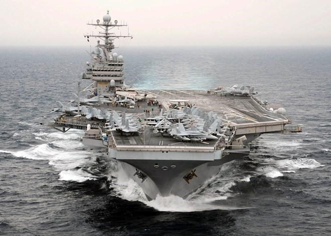 Cận cảnh những tàu sân bay cùng lớp với USS Carl Vinson sắp thăm Việt Nam - Ảnh 5.