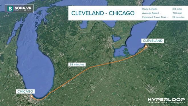 Hyperloop lên kế hoạch mới, nâng tốc độ lên gần 1.200km/h - Ảnh 1.