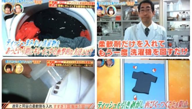 Quần áo lem nhem dính đầy vụn trắng vì lỡ giặt chung với giấy thì chỉ có cách cứu như thế này thôi - Ảnh 4.
