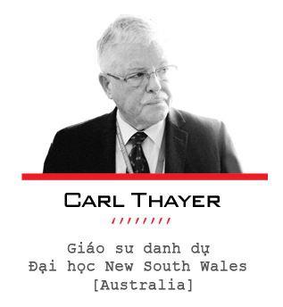 GS Carl Thayer nói về 4 thông điệp từ chuyến thăm của tàu sân bay Carl Vinson đến Việt Nam - Ảnh 2.