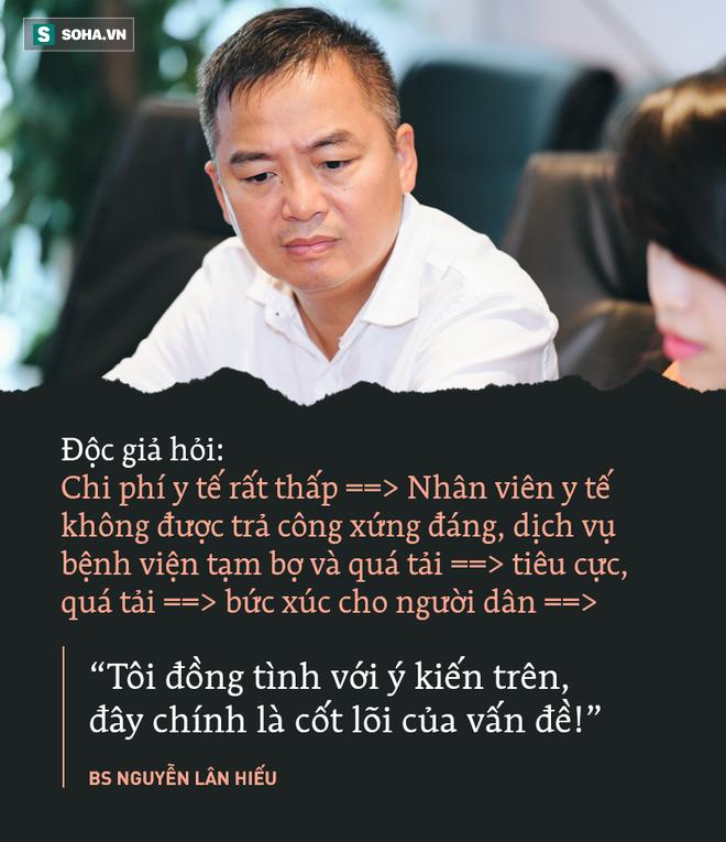 PGS.TS Nguyễn Lân Hiếu: Không có dòng máu lạnh nào đang chảy trong bệnh viện cả - Ảnh 1.
