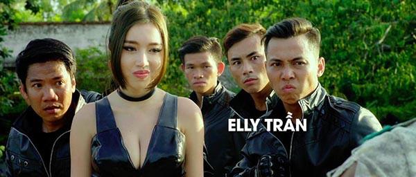 Hình ảnh bỏng mắt của Elly Trần khi đóng phim cùng Mike Tyson, Trương Quân Ninh - Ảnh 8.