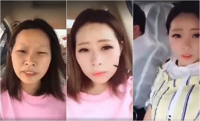 Clip: Con gái chỉ cần makeup thôi là như biến thành một người khác rồi! - Ảnh 1.