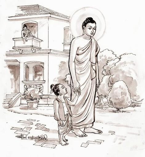 Đức Phật bắt con trai uống nước rửa chân bẩn, lý do đằng sau người làm cha mẹ cần lưu tâm - Ảnh 1.